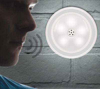 Reflector LED cu senzor vocal0