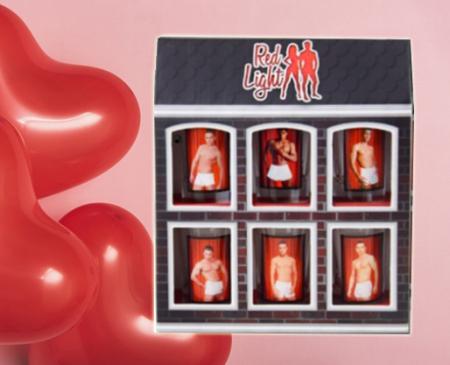 Set 6 pahare termice pentru shot-uri Erotic Men0