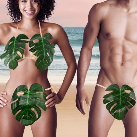 Set costum de baie pentru Adam si Eva0