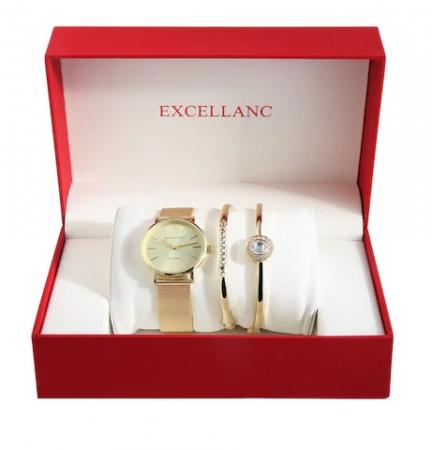 Set cadou Excellanc Exclusive Gold1