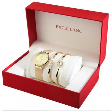 Set cadou Excellanc Exclusive Gold0