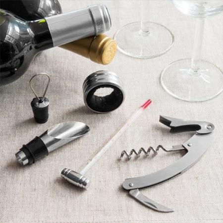Set de accesorii pentru vin Bravissima 4piese0