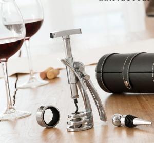 Set de accesorii pentru vin Screwpull4