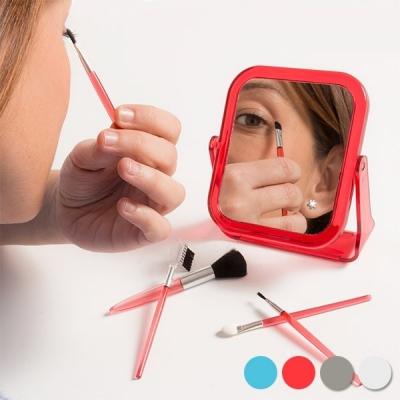 Set oglinda cu pensule de machiaj , 6 piese0