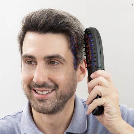 Set perie electrică împotriva căderii părului cu accesorii [1]