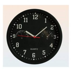Ceas de perete cu termometru si higrometru