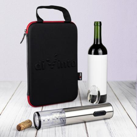 Tirbuson electric de vin Silver Twister Deluxe DI0