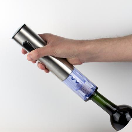 Tirbuson electric de vin Silver Twister Deluxe DI5