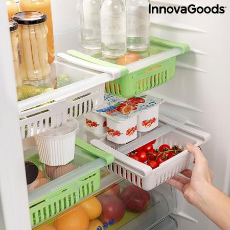 Organizator de frigider reglabil Friwer  SET 2 bucati7
