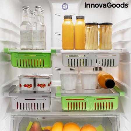 Organizator de frigider reglabil Friwer  SET 2 bucati0