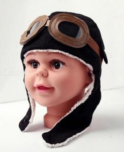 Caciula pentru copii Aviator1