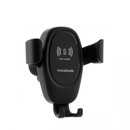 Suport de telefon mobil cu încărcător fără fir pentru mașini Wolder5
