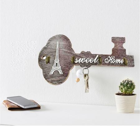 Suport pentru chei realizat din lemn Sweet Home0