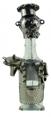 Suport pentru sticla de vin metalic0