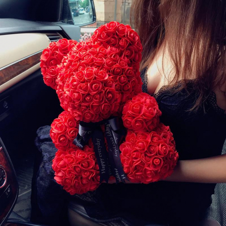Ursulet din trandafiri 25 - 40 cm0