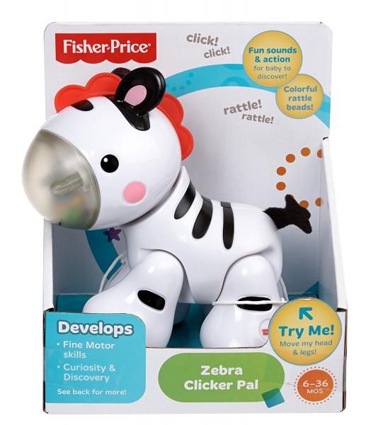 Jucarie Prietena Zebra Fisher-Price 1