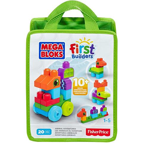 Set de construit cu 20 de piese Mega Bloks 0