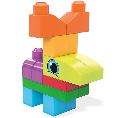 Set de construit cu 20 de piese Mega Bloks 2