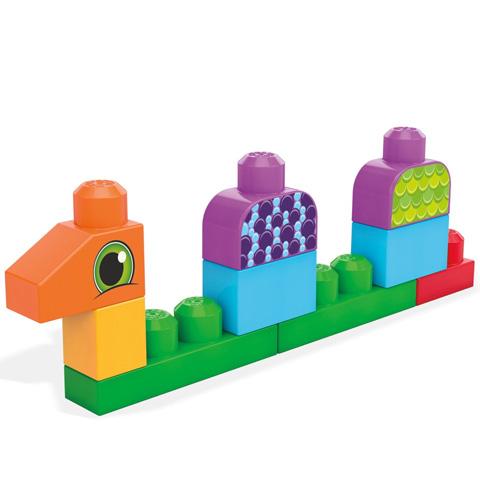 Set de construit cu 20 de piese Mega Bloks 3