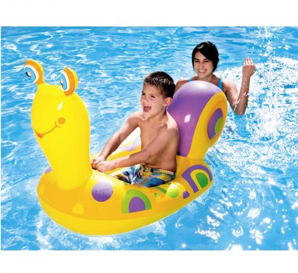 Barcuta gonflabila pentru copii cu model Melc 163 x 66 cm [1]