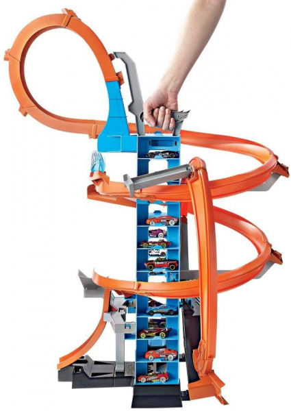 Set de Joaca Hot Wheels - Sky Crash Tower Car 0