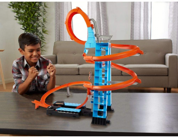 Set de Joaca Hot Wheels - Sky Crash Tower Car 2