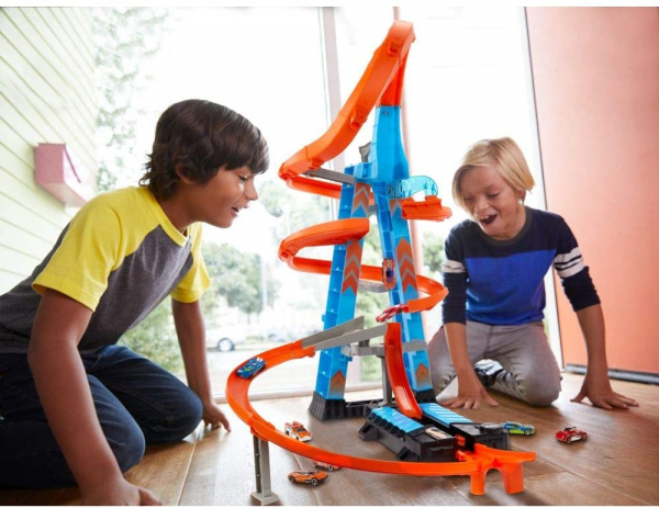 Set de Joaca Hot Wheels - Sky Crash Tower Car 3