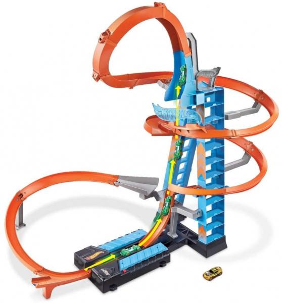 Set de Joaca Hot Wheels - Sky Crash Tower Car 6