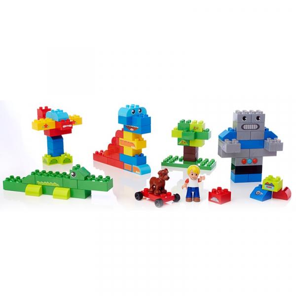 Set Cuburi Mega Bloks Construieste o poveste, 100 piese 4