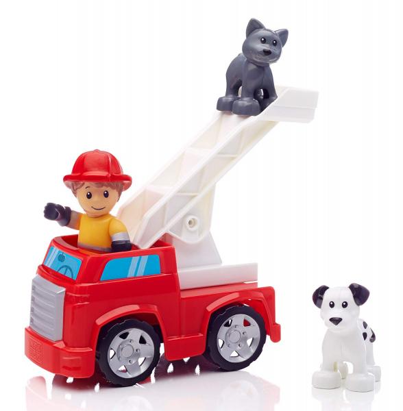 Set de constructie Mega Bloks Pompierie, 55 cuburi 7