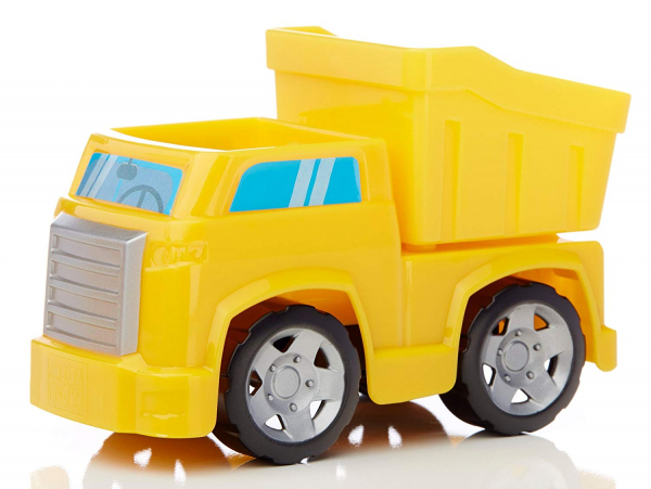 Set de constructie Mega Bloks santier cu camion, 54 cuburi 3