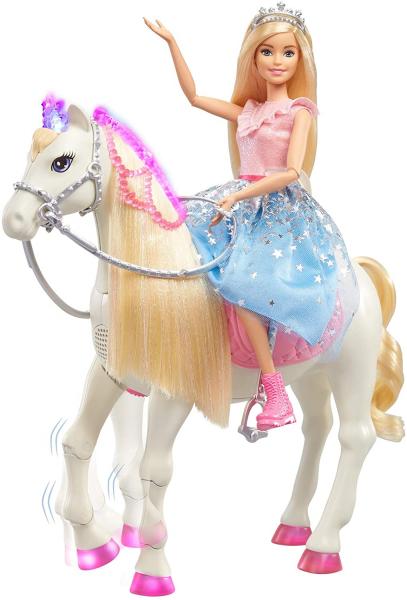 Papusa Barbie Princess Adventure si calul ei magic 2