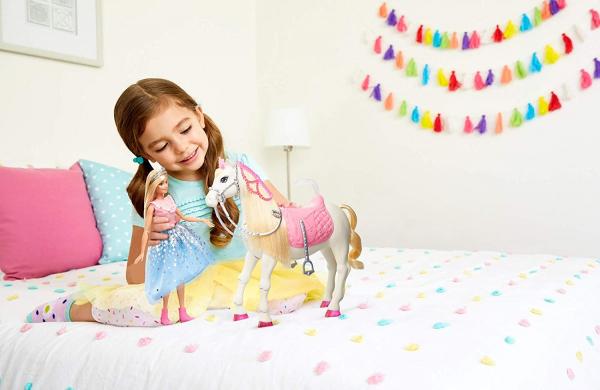 Papusa Barbie Princess Adventure si calul ei magic 5