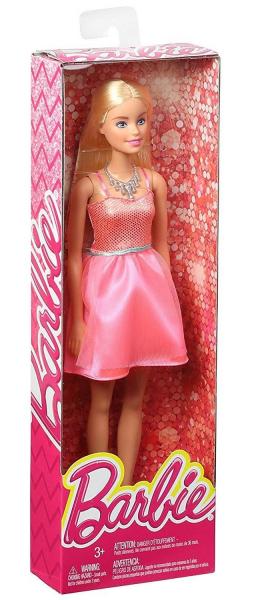 Papusa Mattel Barbie Glitz Doll papusa in rochie eleganta Roz 0