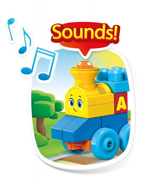 Set de joaca Mega Bloks Tren muzical ABC [5]