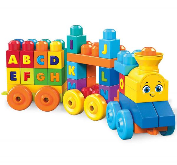 Set de joaca Mega Bloks Tren muzical ABC [8]