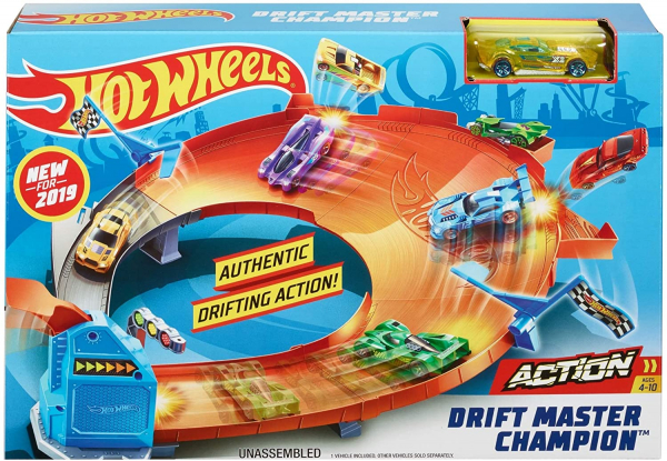 Set de joaca Mattel Hot Wheels Pista Drift Master Champion 0