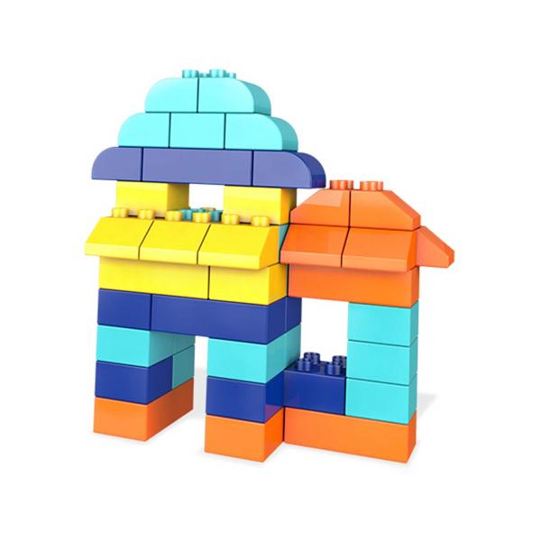Set Cuburi Colorate de Construit Mega Bloks 60 de piese [3]