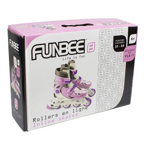Role copii Funbee, reglabile 31-34, roz 1