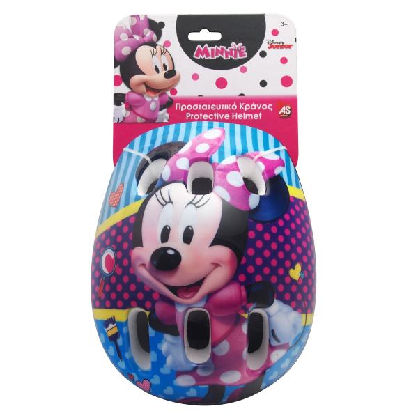 Casca de protectie pentru copii AS Toys marime M Minnie Mouse 0