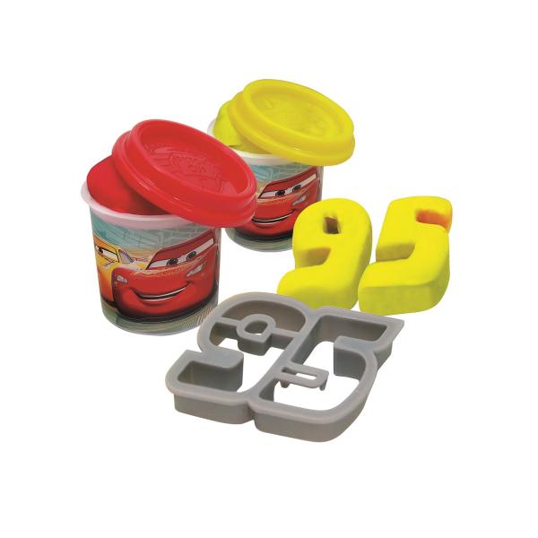 Valizuta cu plastilina si forme Art Greco Cars 2