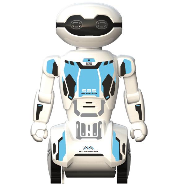 Robot programabil Silverlit Macrobot, telecomanda, albastru 1