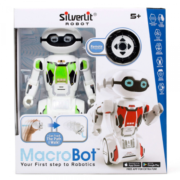 Robot programabil Silverlit Macrobot, telecomanda, verde 0