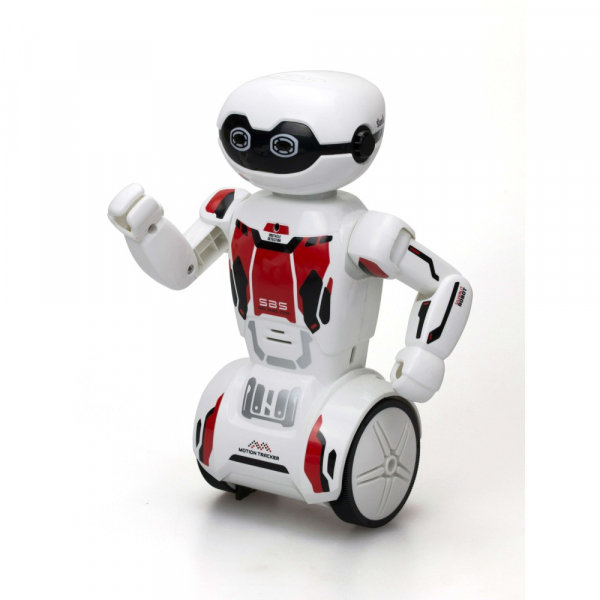 Robot programabil Silverlit Macrobot, telecomanda, rosu 1