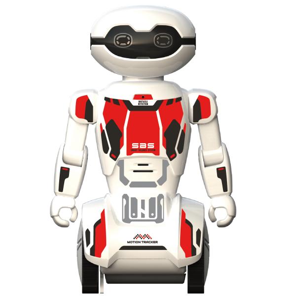 Robot programabil Silverlit Macrobot, telecomanda, rosu 2