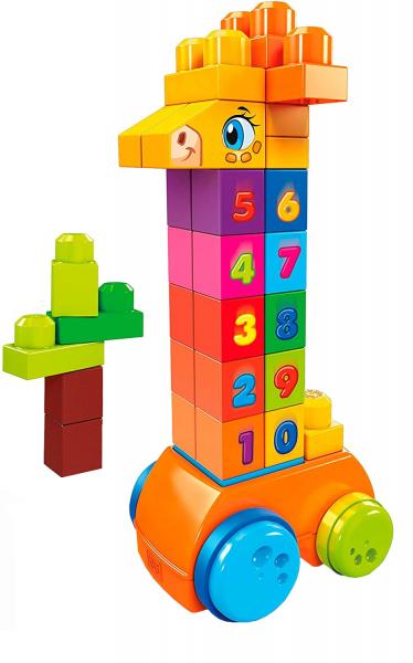 Jucarie interactiva Mega Bloks Girafa cu numere, 30 de piese 0