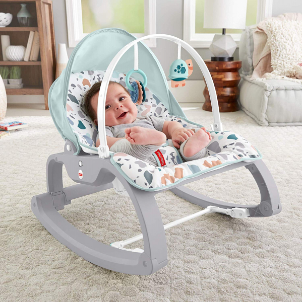 Balansoar Fisher-Price 2 in 1 Infant to Toddler Deluxe 4