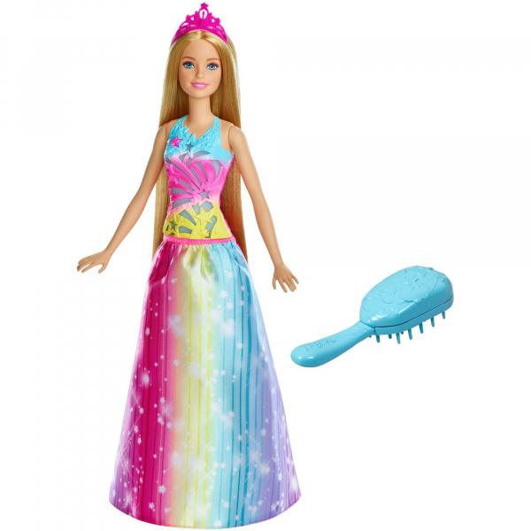 Papusa Barbie Dreamtopia, cu accesoriu perie [0]