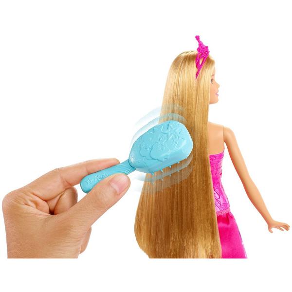 Papusa Barbie Dreamtopia, cu accesoriu perie [2]