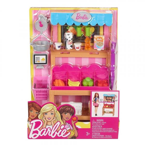 Set de joaca Standul cu alimente Barbie [0]